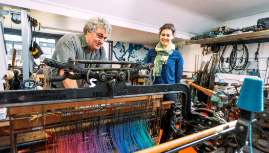 Free guided tour of McKernan Woollen Mills